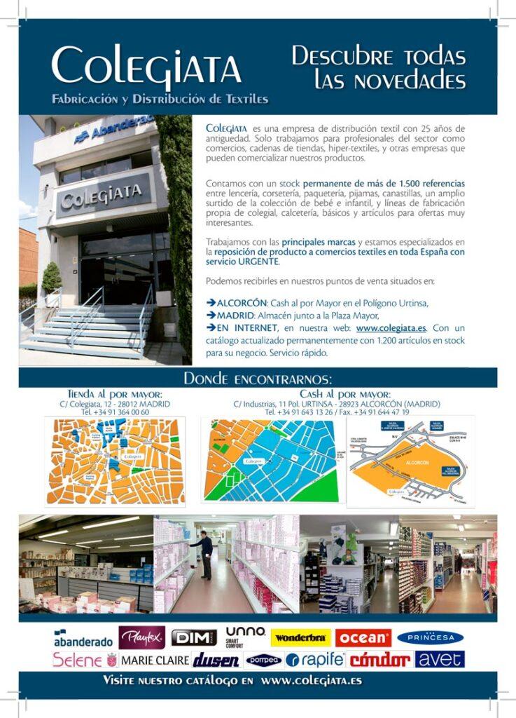 Mayoristas Ropa Interior | Distribuidores de lencería | Colegiata