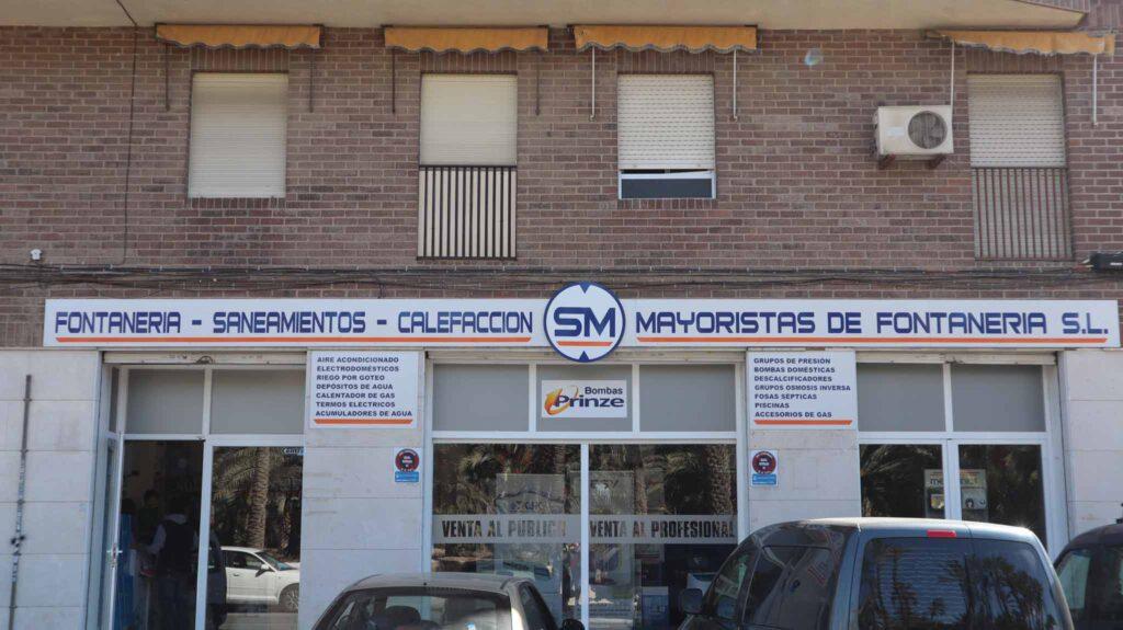 SM Mayoristas de Fontanería