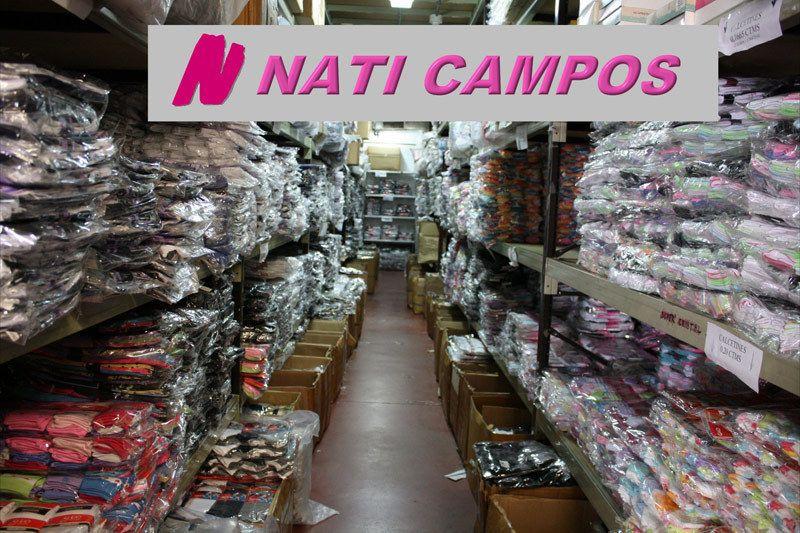 Mayorista de ropa interior en Madrid | NATI CAMPOS