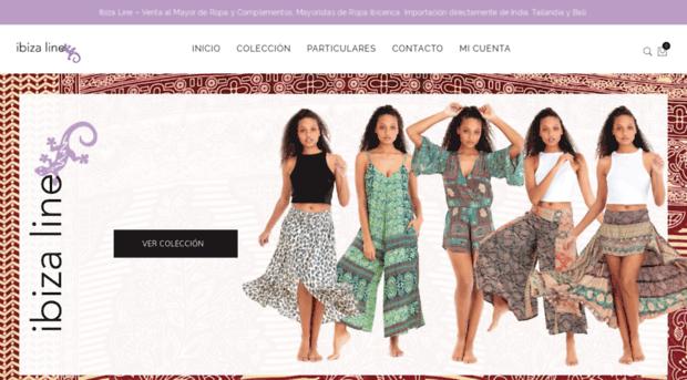 Ibiza Line | Venta de ropa de India Tailandia Bali | Mayorista ropa ibicenca