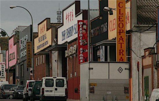 Mayoristas Polígono Cobo Calleja tiendas almacenes chinos